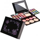 Fashion 24 Colors Eyeshadow Palette Makeup Powder Cosmetic Blush Lip Kit Box with Mirror Women Make Up Tools