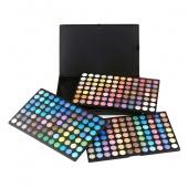 Fashion 252 Shimmer Matte Color Eye Shadow Makeup Cosmetic Palette Set