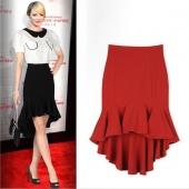 Stylish Ladies Women Fashion Sexy Irregular Fishtail Slim Skirt