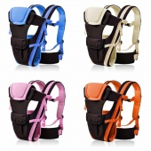 Fashion 2-30 Months Baby Carrier Breathable Multifunctional Adjustable Front Facing Infant Comfortable Sling Backpack