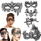 Fashion Venetian Style Metal Filigree Masquerade Mask