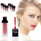 Fashion New Make Up 12 Colors Lip Gloss Long-Lasting Lipstick Waterproof Lip Gloss Makeup