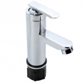 Stainless Steel Single Handle Wash Basin Faucet
