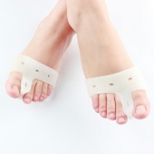 One Pair Silicone Soft Gel Feet Care Forefoot Cushion Half-Yard Foot Care Tool