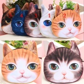 Cat Face Case Coin Purse Wallet Makeup Bag Pouch