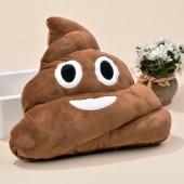 Cute Funny Emoji Cushion Toy Doll Sofa Decoration Poo Shape Pillow