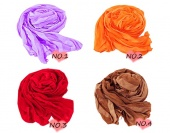 Fashionable Charming Synthetic Fiber Women's Long Scarf Wrap 14 Colors