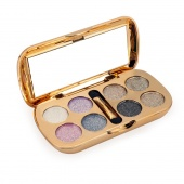 Fashion Women 8 Shimmer Colors Cosmetic Makeup Eye Shadow Palette with Brush