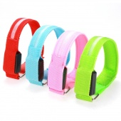 Fashion Outdoor Sport Cycling Running LED Safety Reflective Belt Strap Armband