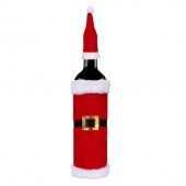 Christmas Snowman Wine Bottle Cover Wrap Christmas Decorations Holiday Decor