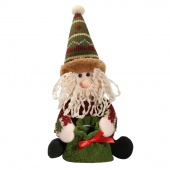 Personalised Embroidered Xmas Sack Gift Decoration Santa Snowman Reindeer