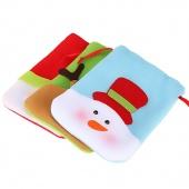 Christmas Snowman Decorations Holiday Decor Wedding Candy Case Bag