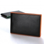 Fashion Korean Style Men Mini Money Wallet with Rope