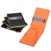 Fashion Korean Style Men Mini Money Wallet with Clip