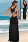 Back Detail Jersey Maxi Dress
