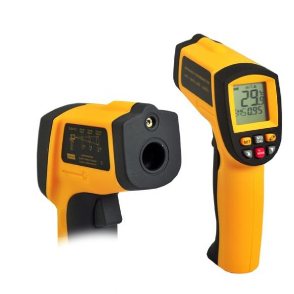 Non-Contact IR Laser Infrared Digital Thermometer Gun GM900 -50 ºC ~ 900 ºC