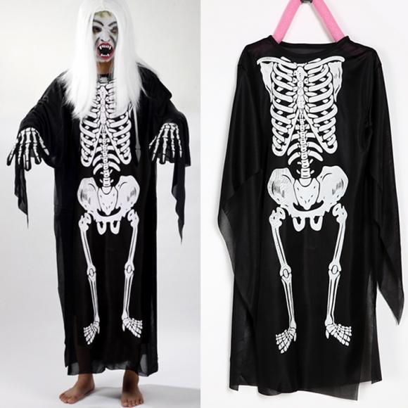 Children Kids Halloween Costume Skeletons Print Clothes Skull Cosplay Devil Dress Cool for Costume Ball Dress Up
