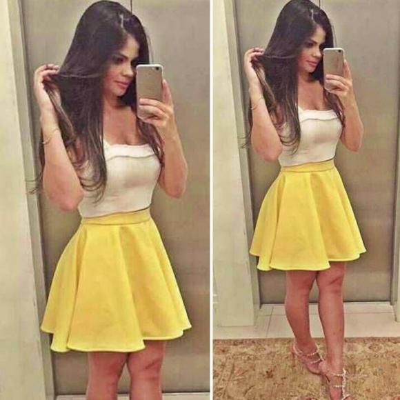 Как сделать из платья топ и юбку