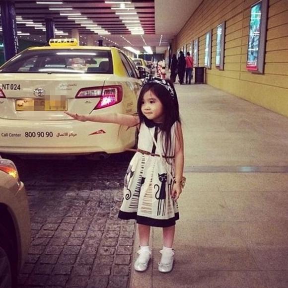 Baby Kids Children Girl's Cute Sleeveless Animals Pattern Button Dress